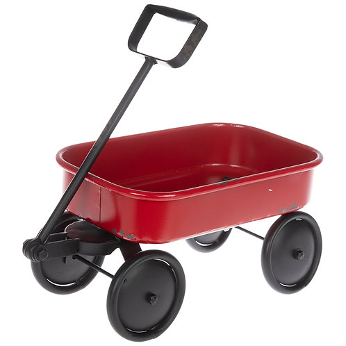 Personalized Red Wagon