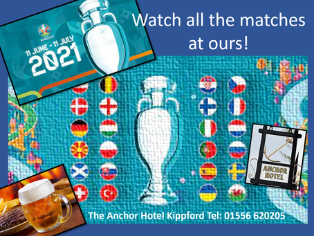 Watch all the UEFA EURO matches on our Big Screen