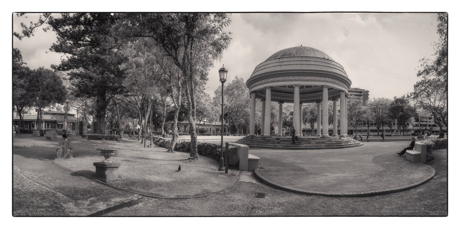 En el parque. San José, 2019