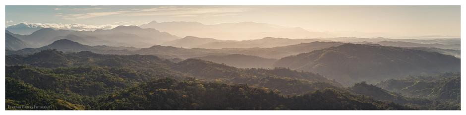 Fragmento de un paisaje. Lajas (Central pacific coast of Costa Rica), 2021