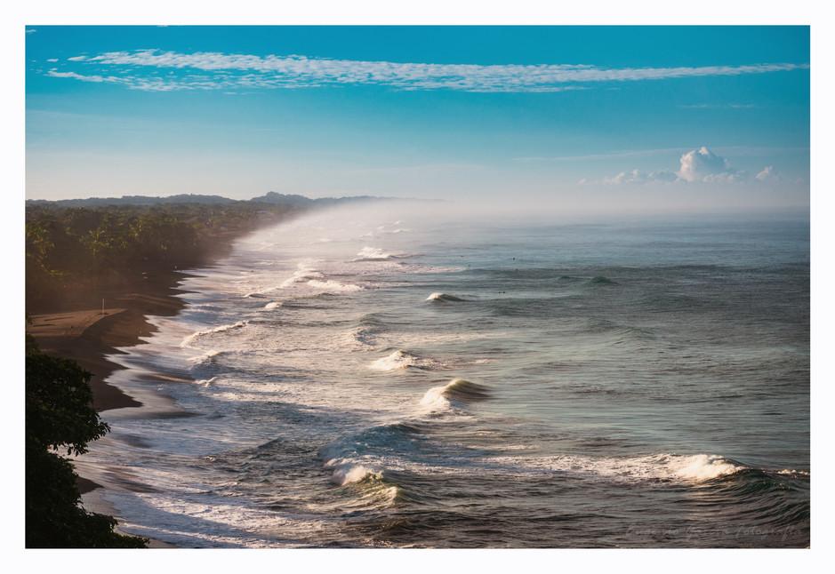 Y. esta linda la mar.  Playa Hermosa, 2019