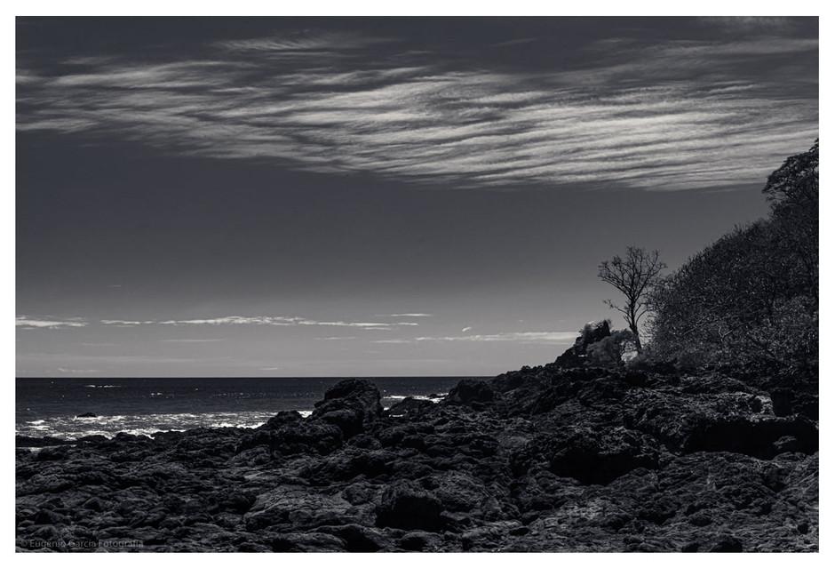 Costa pedregosa. Montezuma, 2021