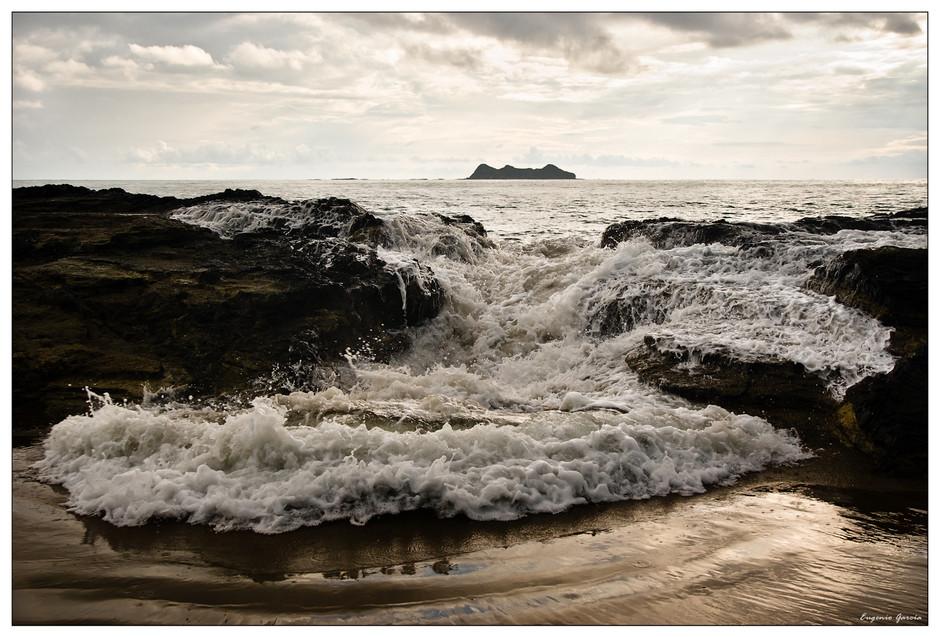 Desbordamiento. Playa de Arco, 2011