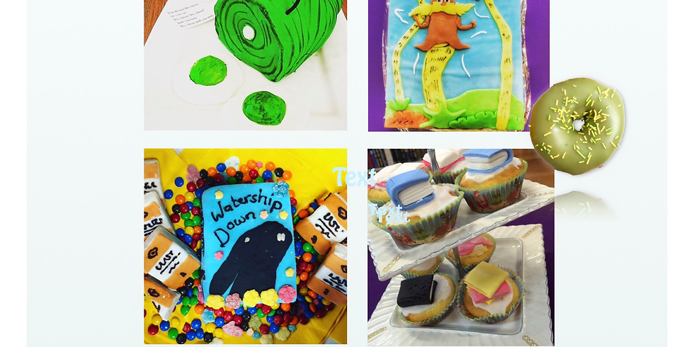 Edible Books Competition / Afternoon Tea