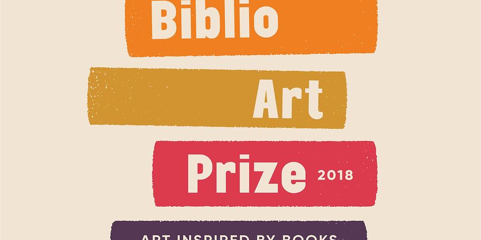 BIBLIO ART PRIZE AWARDS & LAUNCH NIGHT!