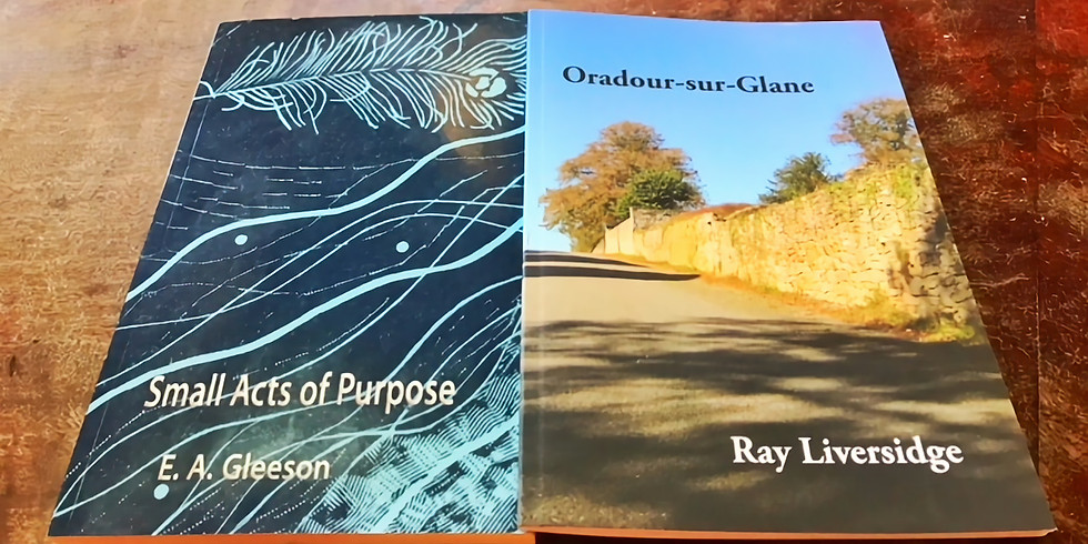 Meet the Poets: EA Gleeson & Ray Liversidge