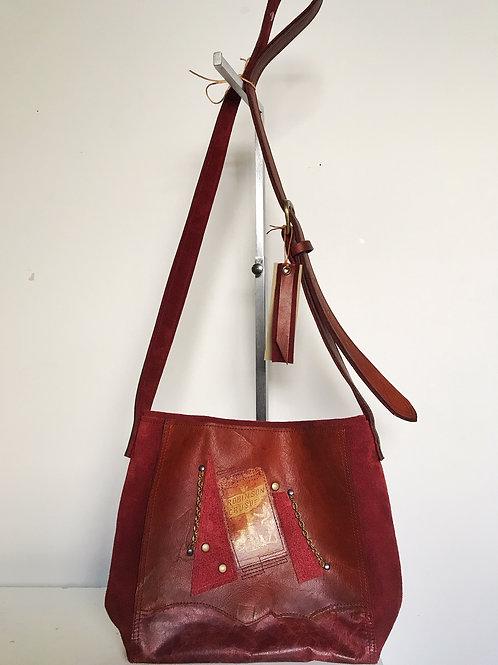 Crusoe Leather Bag by Jill Edwards