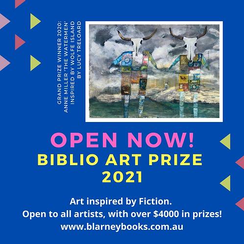 Biblio Art Prize 2021 Entry Fee