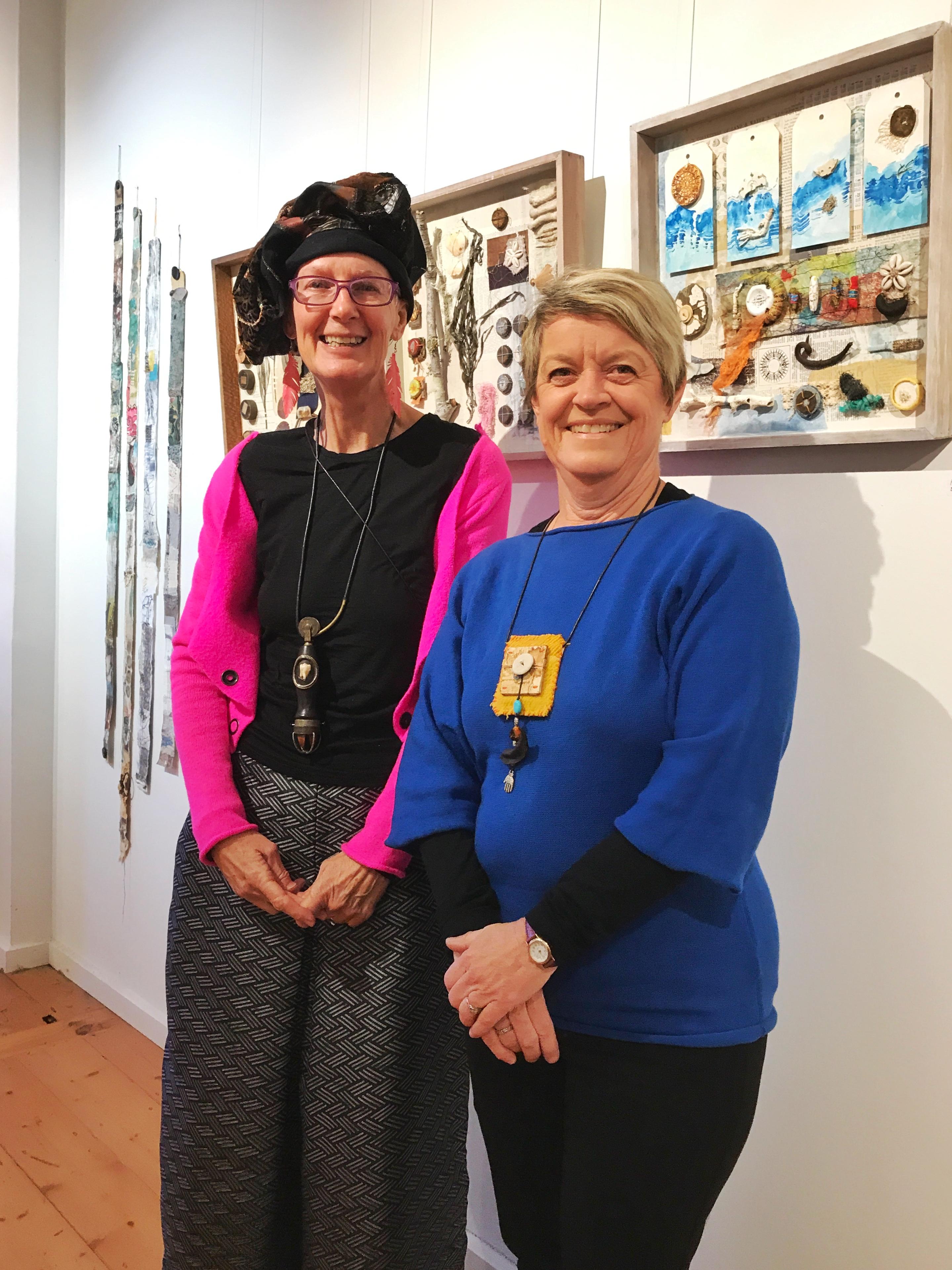 Peta Lloyd (left) & Nanette Balchin