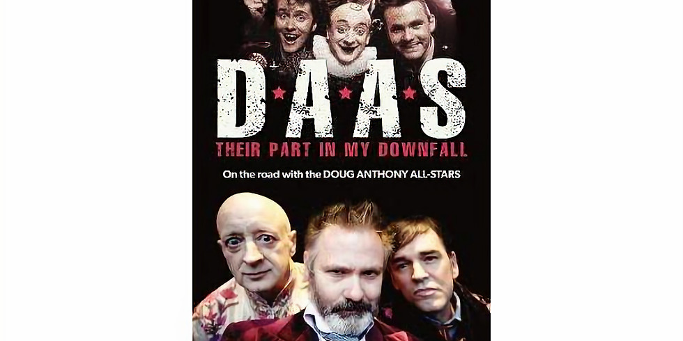 BOOK READING: D.A.A.S.: THEIR PART IN MY DOWNFALL
