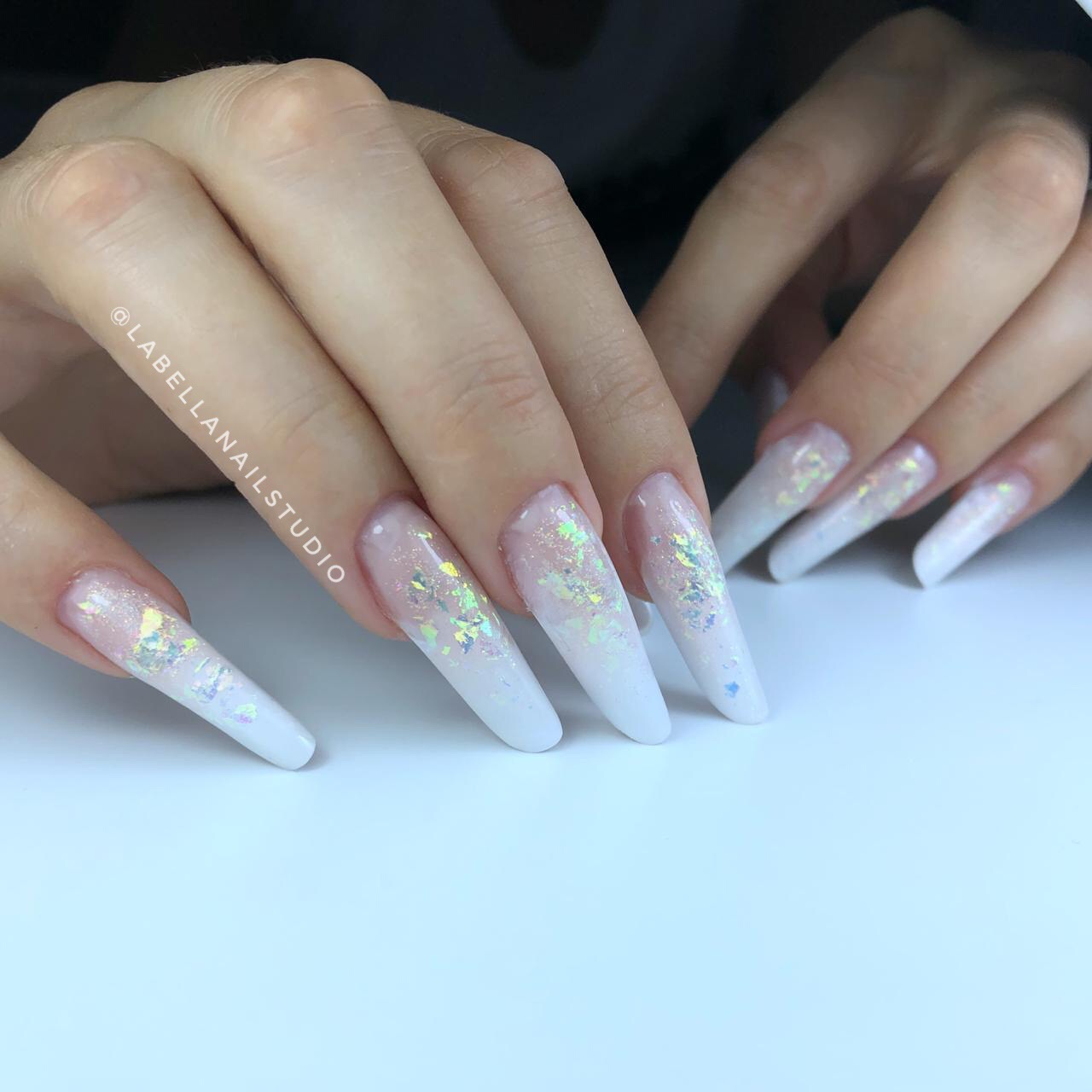 French Fade Nail Modelling