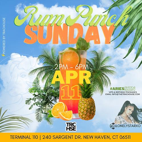 Rum Punch Sunday 🍹