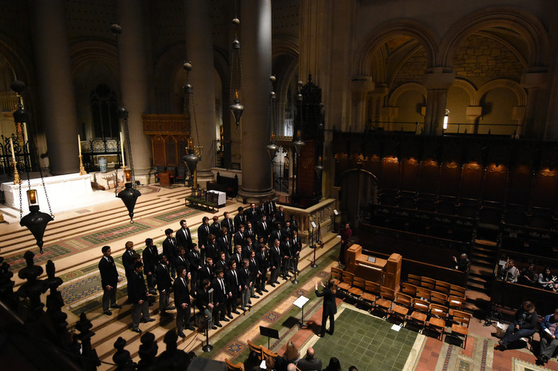 Avon Old Farms School Chorale | St. John the Divine