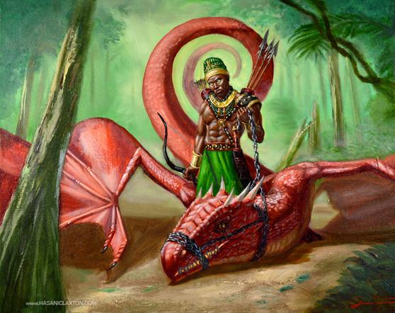 Oxossi the Dragon Tamer