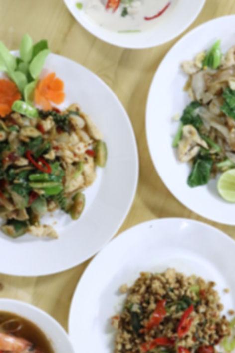 thai food Bees Garden Cooking School Chiang mai