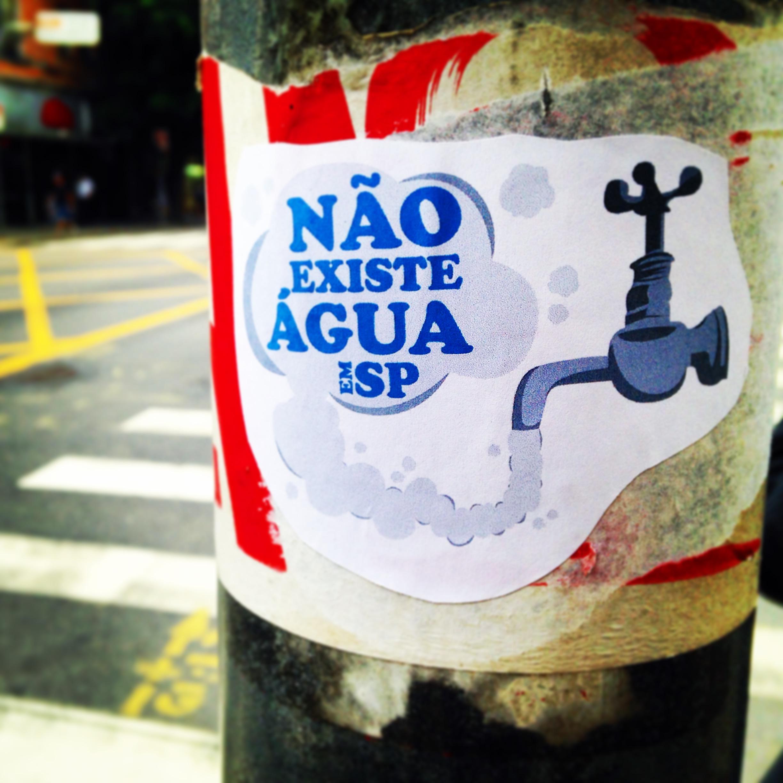 #NãoExisteÁguaEmSP