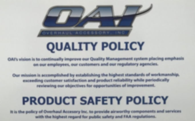 QualityPolicyProductSafetyPolicy