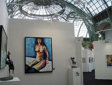 Marianne Talmon artiste peintre sculpteur Grand Palais coaching artistique