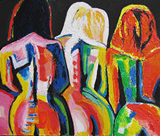 Marianne Talmon, cours, stages de peintures, sculptures, coaching créatif, Lyon Atelier Bout d'terre