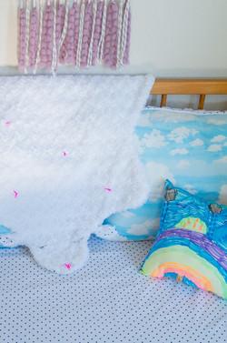 Soft sheep blanket