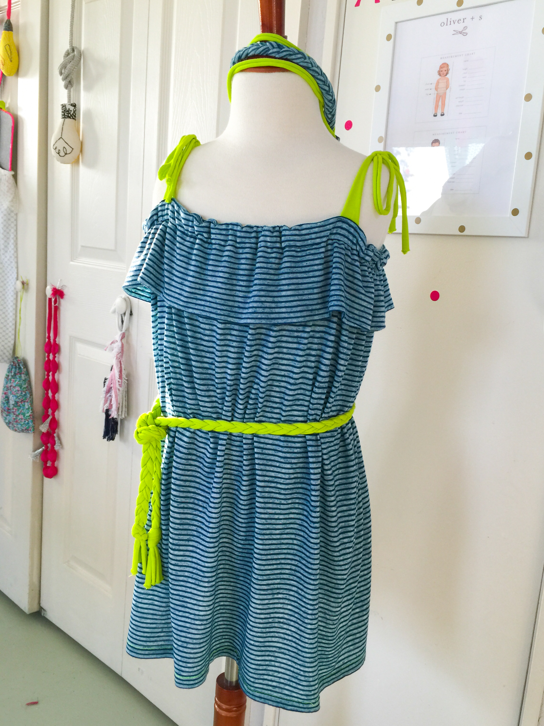 Sweet Summer Sundress- knit