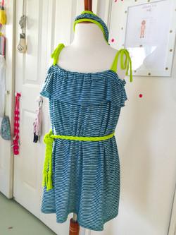 Sweet Summer sundress - knit