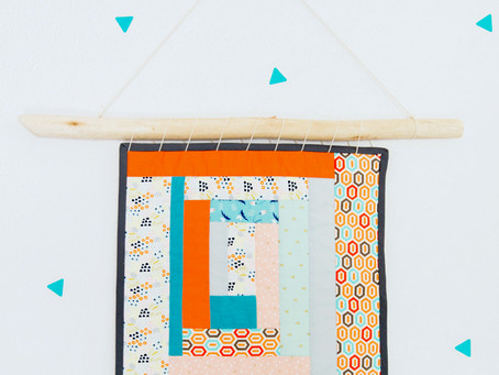 Improvisational Quilting Workshop for adults =>postponed to April 4th at 7pm