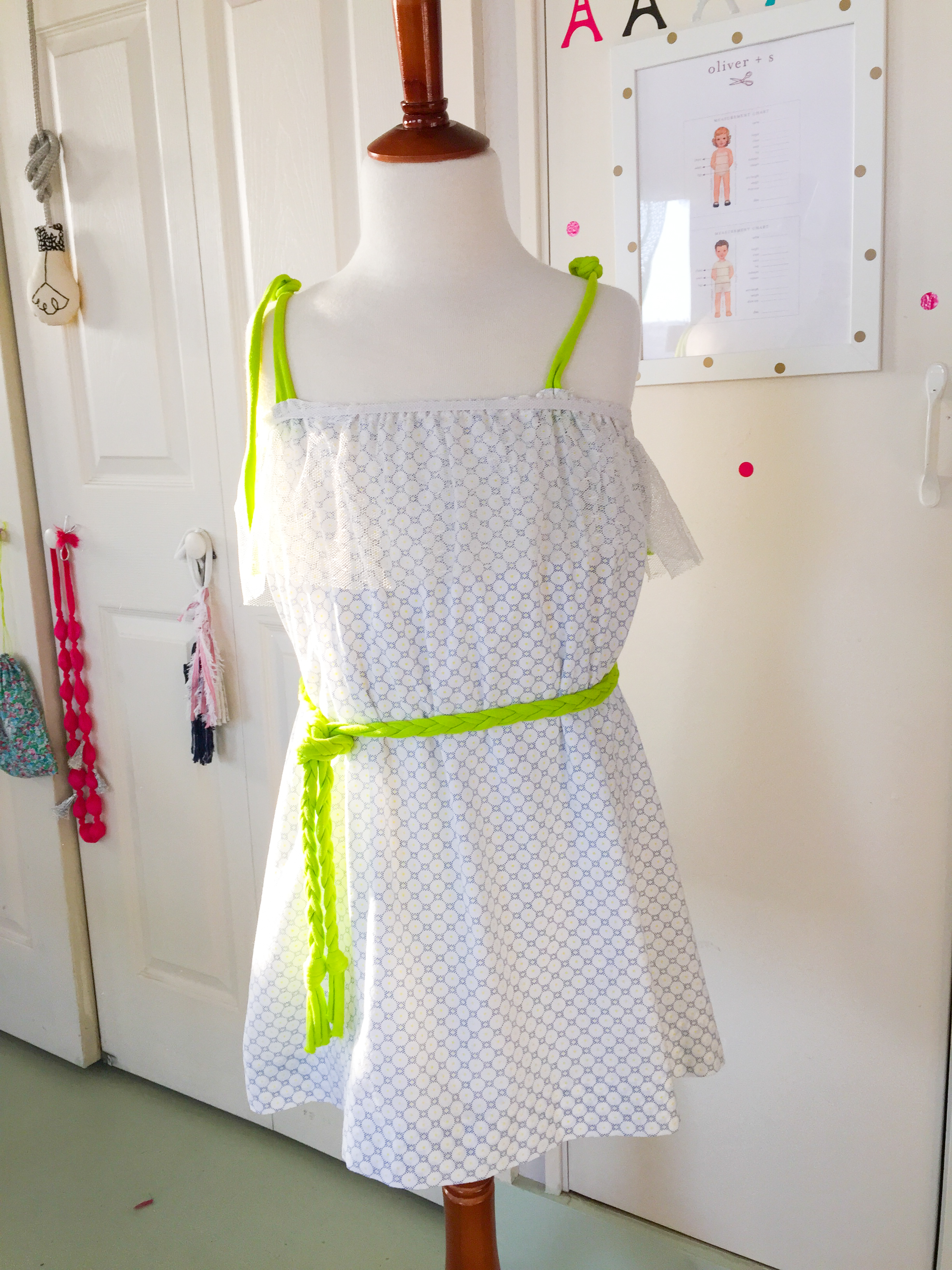 Sweet Summer Sundress-light cotton