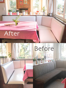 Before and After in my new home sweet home...