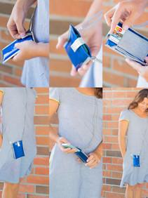 The minimalist i-phone wallet