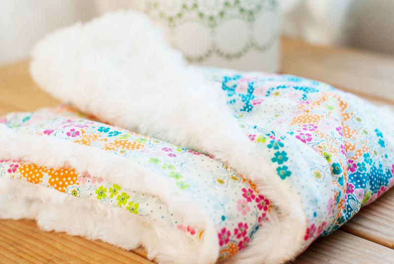 Cosy fur scarf