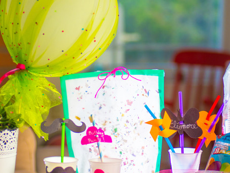 Crafty ideas for birthday party !