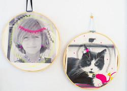 Customized photo hoops