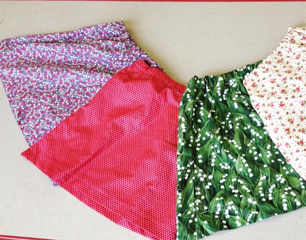 Simple skirts