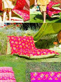 The Boho pillow-mattress