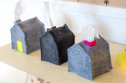 Tissue house box