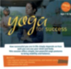 Yoga for Success Teal Wellness Inner Eng