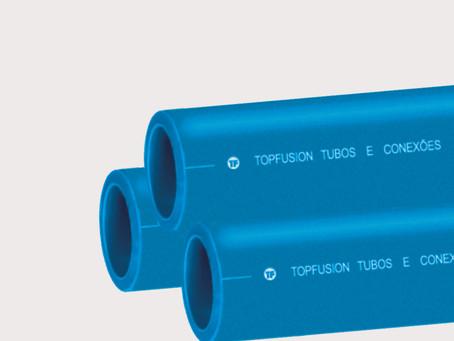 O que é Tubo PPR Azul?