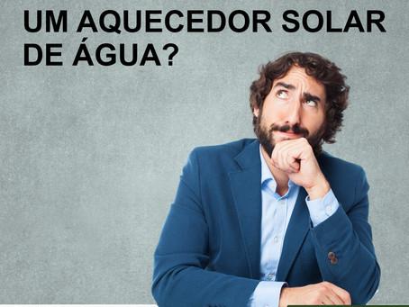Como funciona um aquecedor solar de água