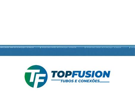 O melhor tubo PPR só tem na TOPFUSION