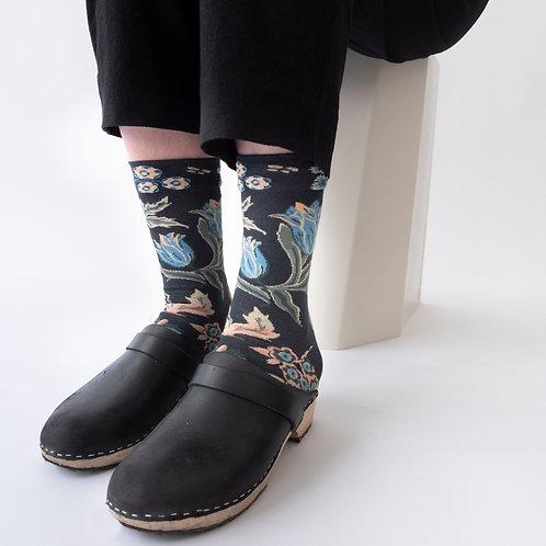 Katoenen sokken korenbloem