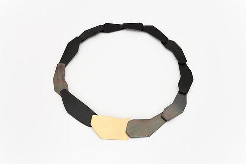 Geometrische halsketting/Geometric necklace