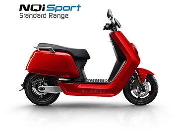 NIU Frankfurt NQI Sport Standard Range in rot
