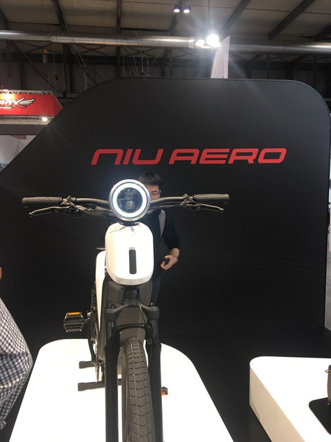 NIU EB-01 E-Bike