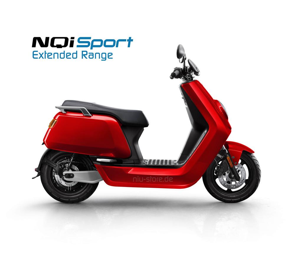 NIU NQI Sport 6035 Extended Range - Modell 2021 aus dem NIU Store Frankfurt.