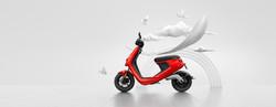 NIU M1 Pro Serie in rot