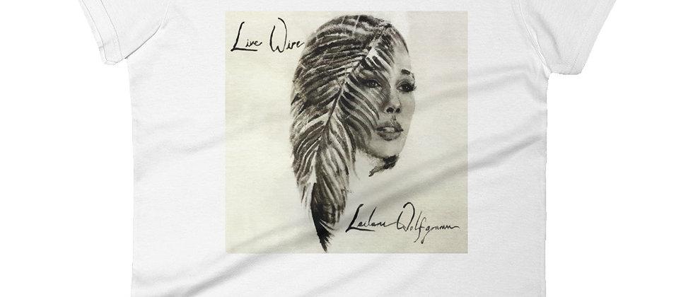 """""""Live Wire"""" Women's short sleeve t-shirt"""