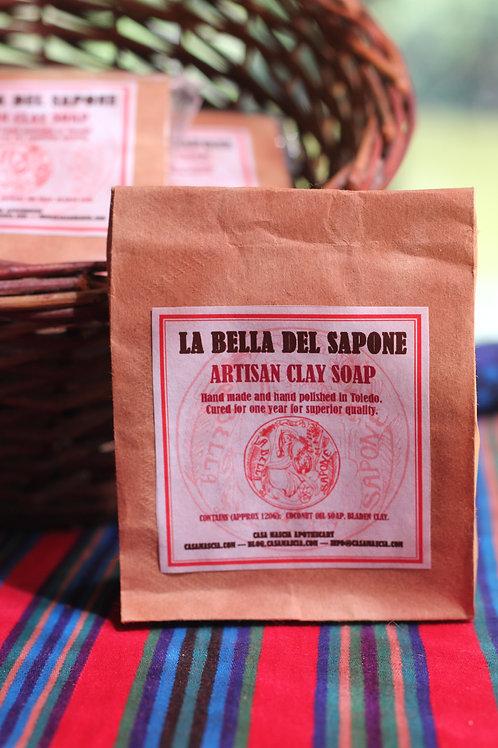 La Bella Del Sapone Artisan Clay Soap