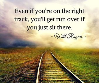 Even if you're on the right track, you'l