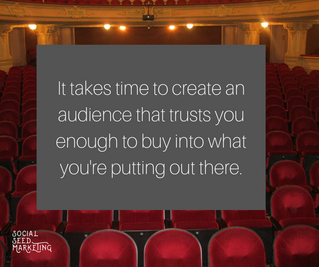 The Time for an Audience is BEFORE You Have Something Important to Promote